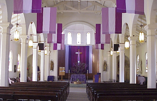 St. joseph Church interior, Hilo